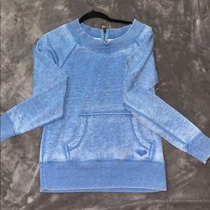 Roxy pocket sweatshirt.